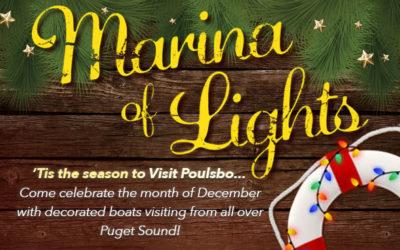"Port of Poulsbo ""Marina of Lights"""